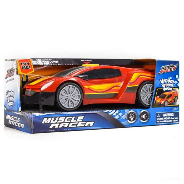Lt & Snd Muscle Racer Car