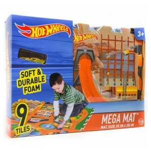 HW Mega Mat Tiles w/Car