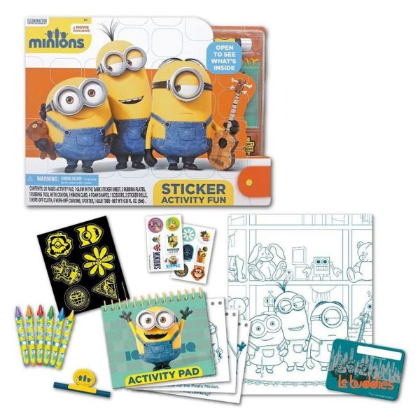 Minions Sticker Fun