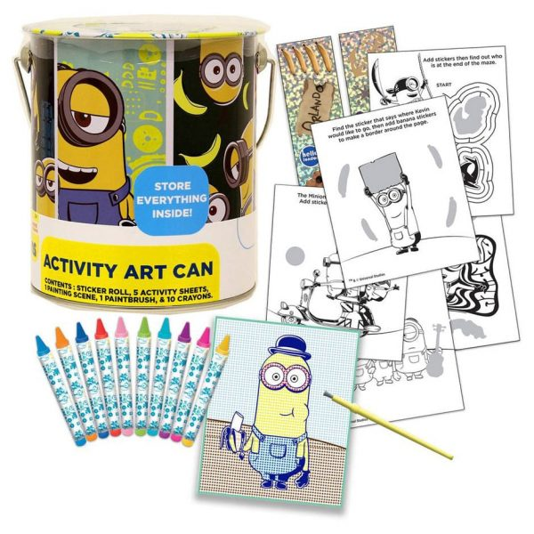Minions Activity Art Can