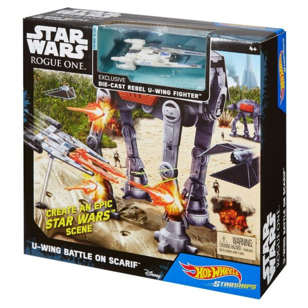 SW U-Wing Battle on Scarif