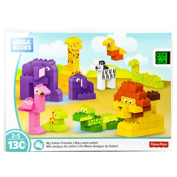 MB My Safari Friends 130 Pc