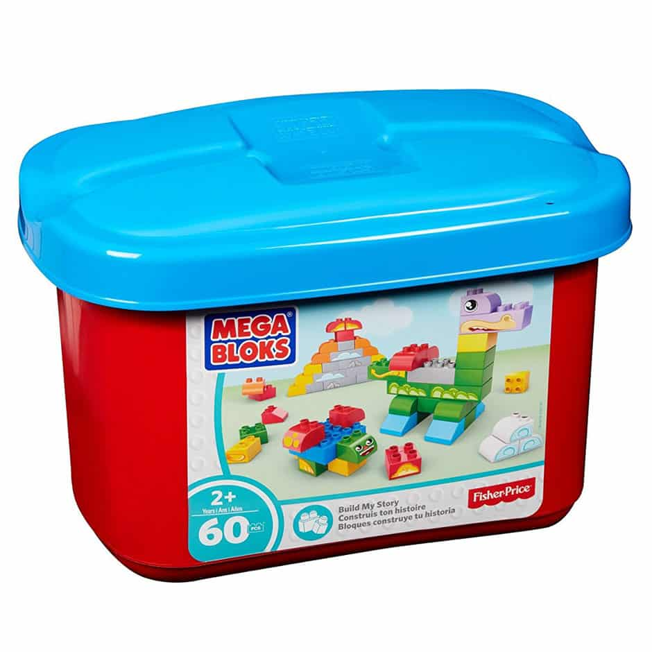 Mega Bloks Build My Story 60 Pc Tub - Samko Corporate Party Services