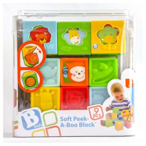 Soft Peek-A-Boo Blocks