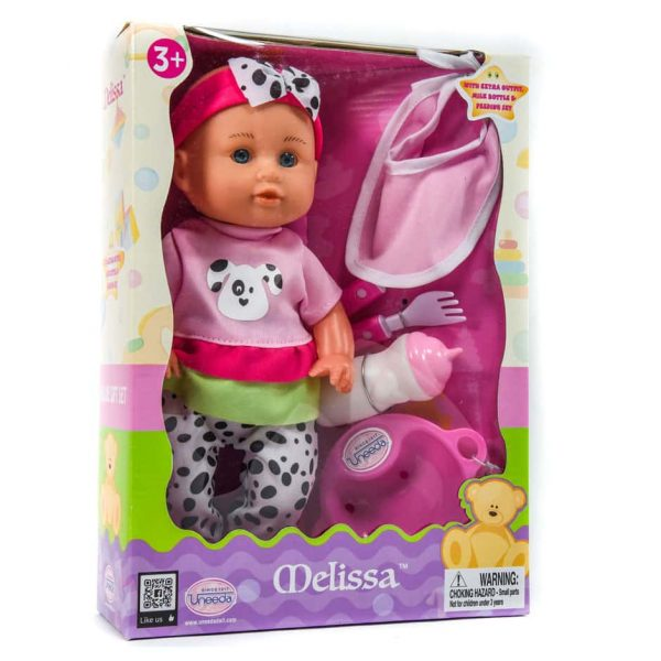 12'' Doll w/Accessories