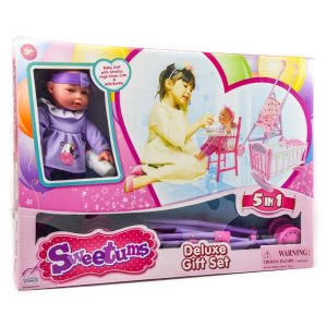 5-in-1 Deluxe Doll Gift Set