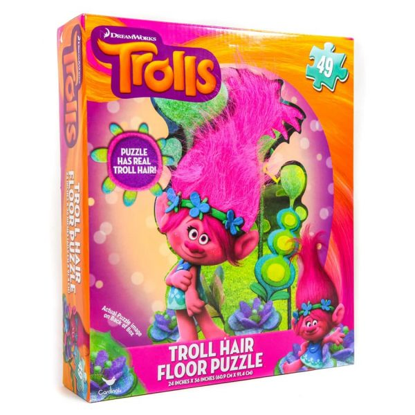Troll Hair Floor Puzzle