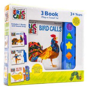 Eric Carle 3 Book Sound Set