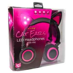 Cat Ears LED Headphones