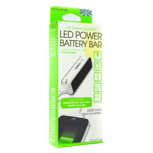 LED Power Battery Bar