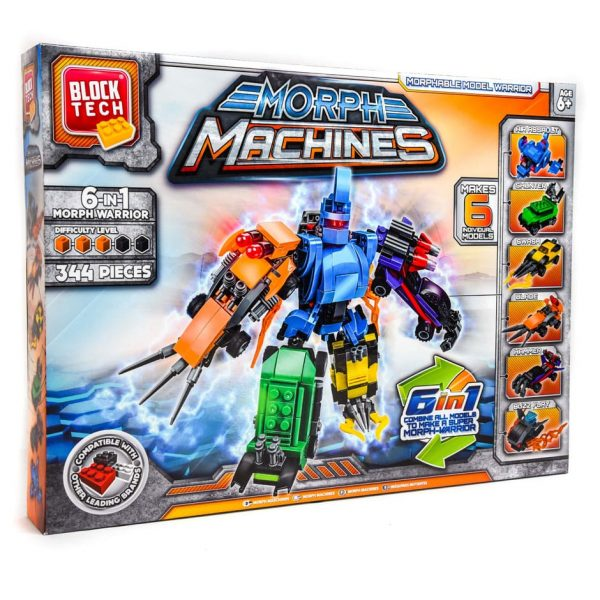 6-in-1 Morph Machines