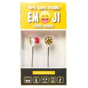 Emoji Stereo Earbuds