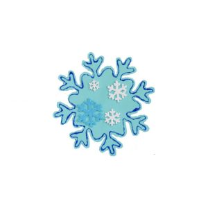 Foam Snowflakes (Pk 20)