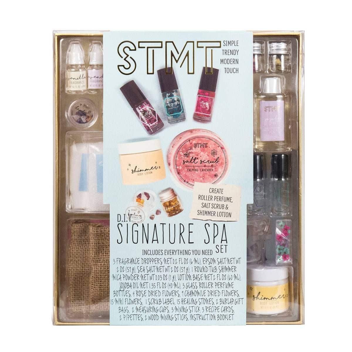 Diy Signature Spa Perfume And Salt Scrub Set Samko Corporate Party Roller Beat Lama