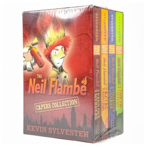 Neil Flambe Capers Collection 4 Book Set