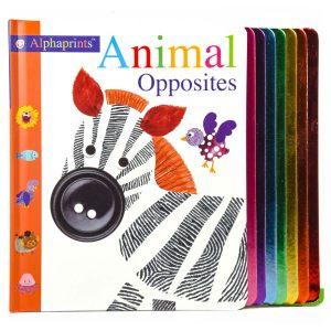 Animal Opposites Alphaprints