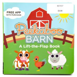 Peekaboo Barn Lift-the-Flap Book