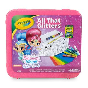 Crayola Shimmer and Shine All That Glitters Activity Case
