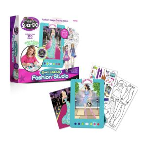 Shimmer n Sparkle 2-in-1 Lite Up Fashion Studio