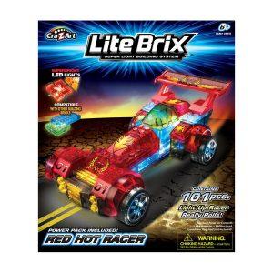 Lite Brix Light Up Racer Asst