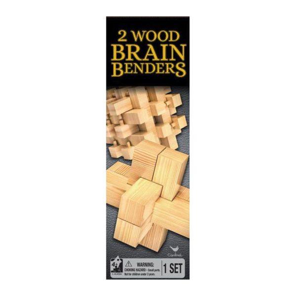 2 Wood Brain Benders Game
