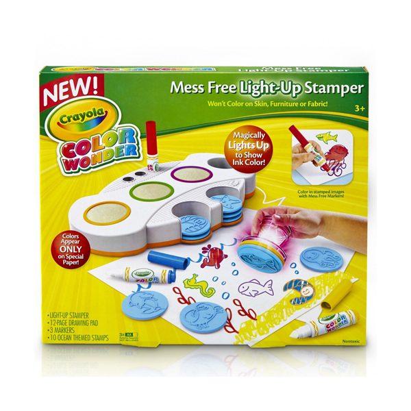Cr Color Wonder Mess Free Light Up Stamper