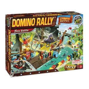 Domino Rally Pirate Sea Battle