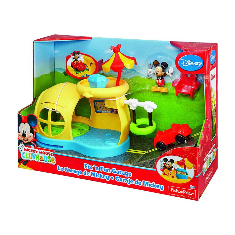 Fantastic Fisher Price Mickey Fix N Fun Garage Creativecarmelina Interior Chair Design Creativecarmelinacom