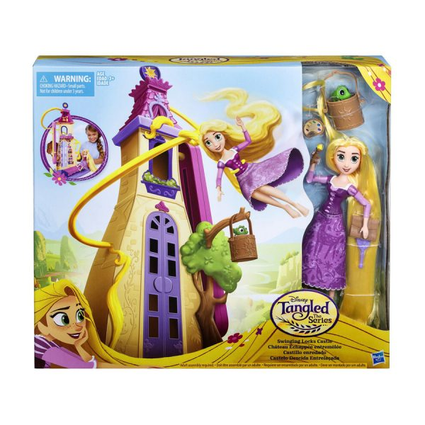 Disney Tangled Swinging Locks Castle