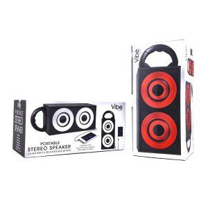 Vibe Portable Stereo Speaker Asst