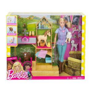 Barbie Farm Vet Playset