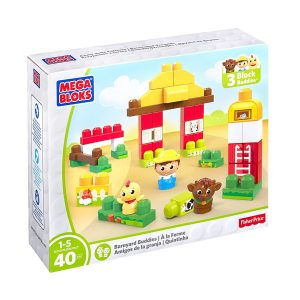 First Builders Barnyard Buddies Building Set Mega Bloks