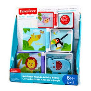 Fisher Price Rainforest Friends Activity Books