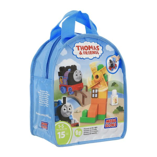 Thomas 15 Pc Mega Bloks Bag Set Asst