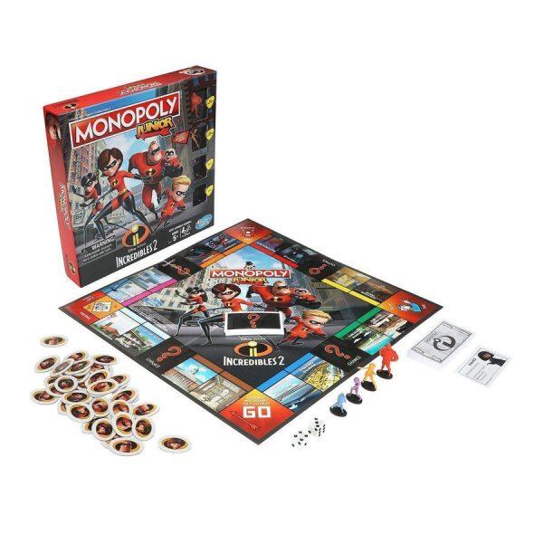 Incredibles 2 Monopoly Junior