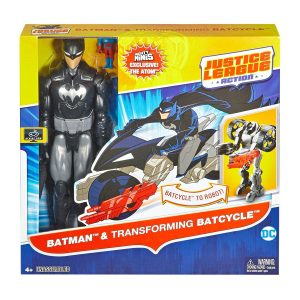 "DC 12"" Batman Action Figure with Vehicle Asst"