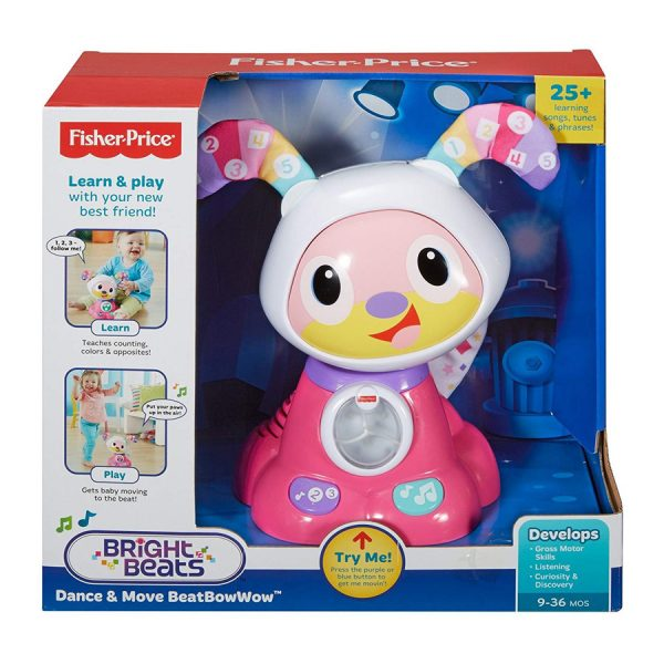 Fisher Price Dance and Move BeatBowWow Pink