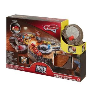 Cars 3 Mini Racers Crank & Crash Derby Playset
