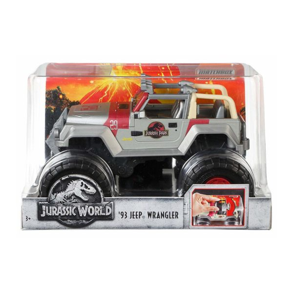 Matchbox Jurassic World Jeep Asst