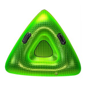 Sno Tube Prism Rocket Green 42 in Pipeline