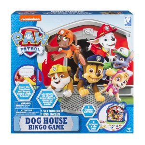 Paw Patrol Dog House Bingo Game