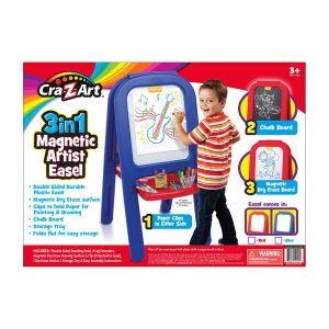 Cra Z Art 3-in-1 Magnetic Artist Easel