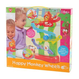 Happy Monkey Wheels Playgo