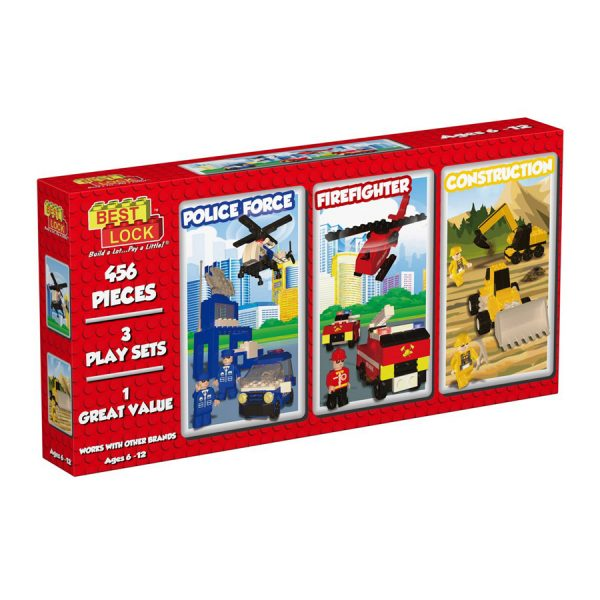 3 in 1 Multi Pack Construction Set