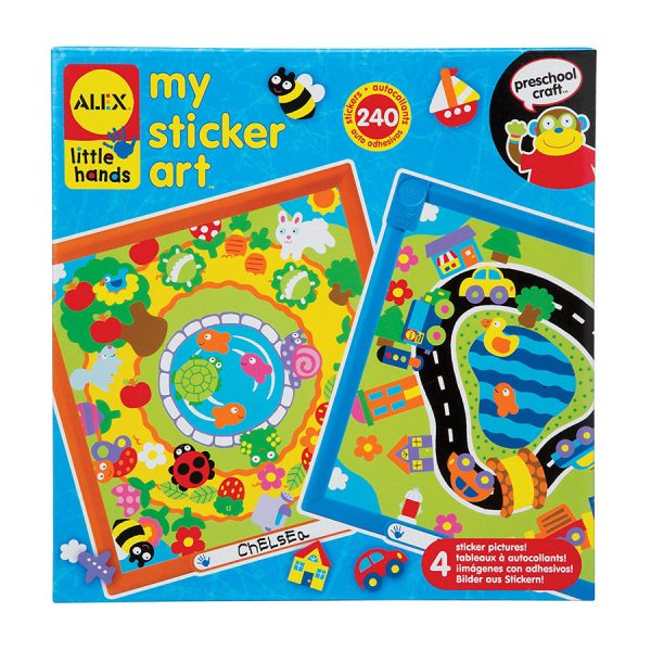 Alex Toys Little Hands My Sticker Art