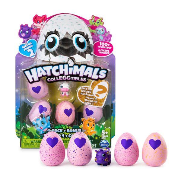 Hatchimals Colleggtibles 4 Pack, Season 2