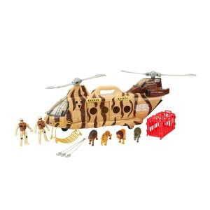 Rescue Helicopter Playset Animal Planet Wildlife
