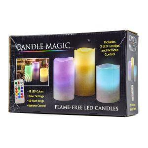 Candle Magic Set w/Remote Control