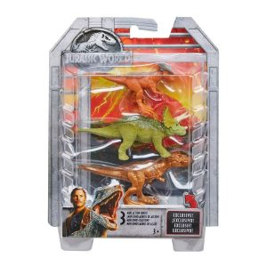 Jurassic World Mini Action Dinos 3 Pack Asst.