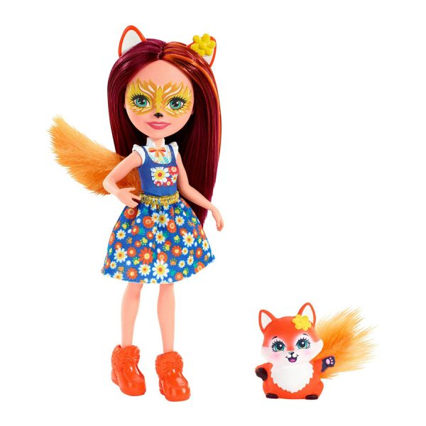 Enchantimals Felicity Fox and Flick